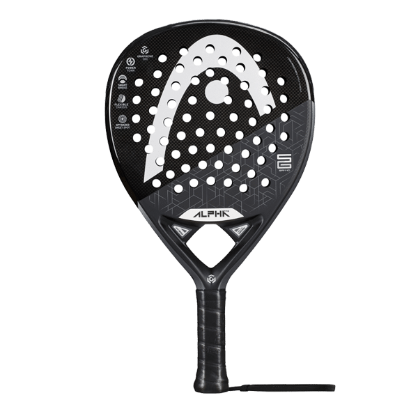 Padel racket shapes